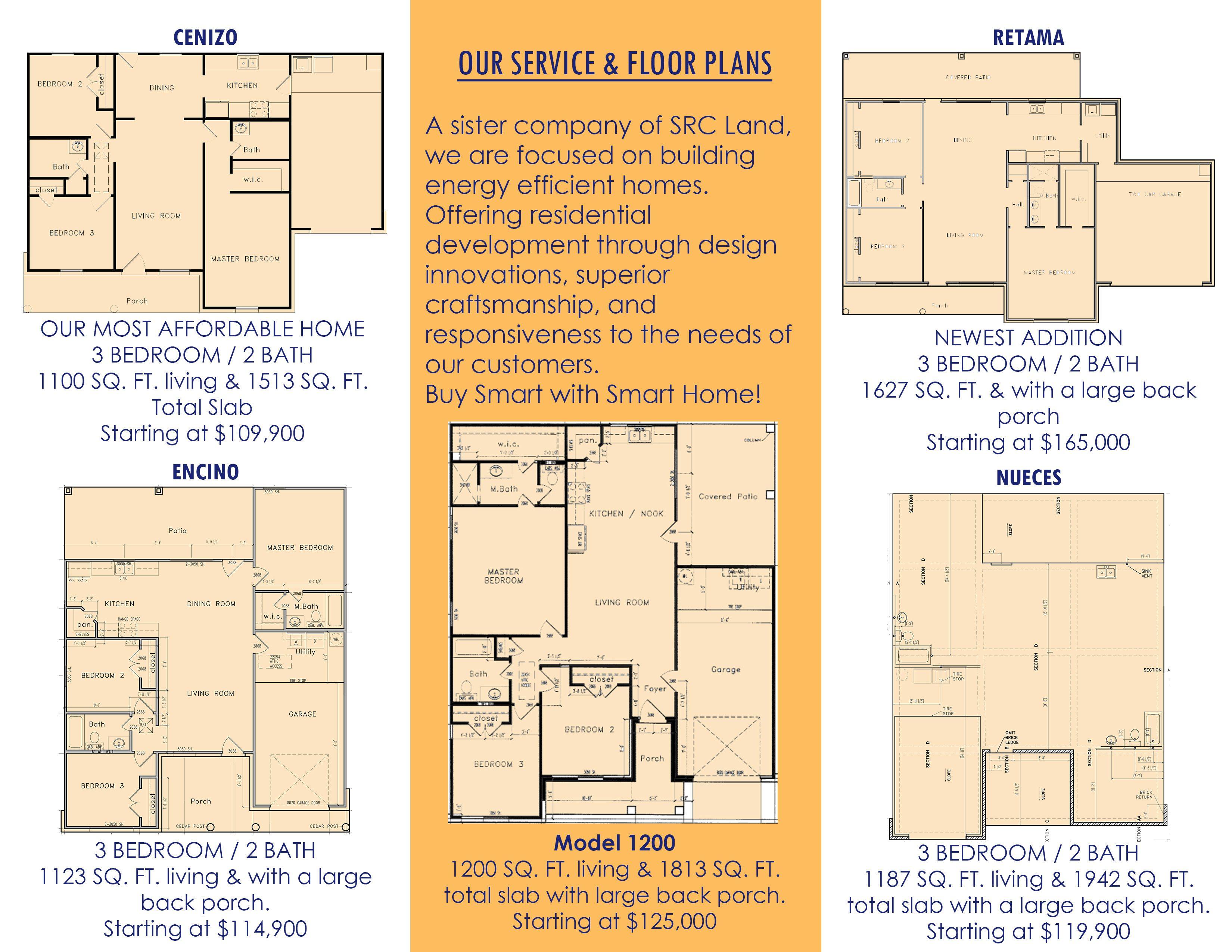 Smart Home Floorplans